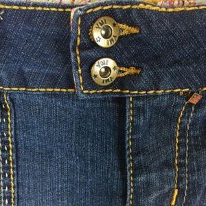 YMI Shorts - YMI Size 16 Shorts Stretch Denim Medium Wash Booty